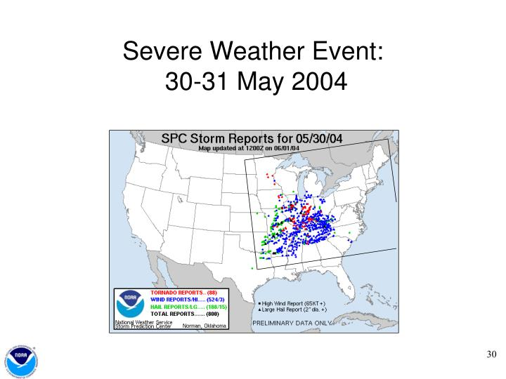 Severe Weather Event: