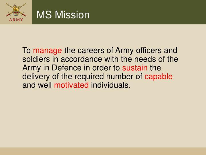 MS Mission