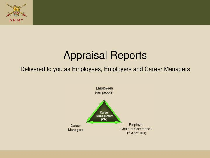 Appraisal Reports