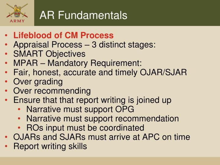Lifeblood of CM Process