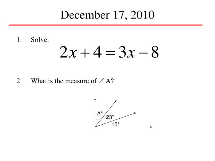 December 17, 2010
