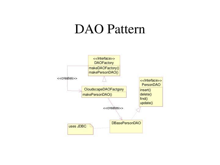 DAO Pattern