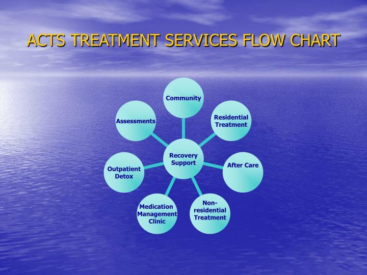 ACTS TREATMENT SERVICES FLOW CHART