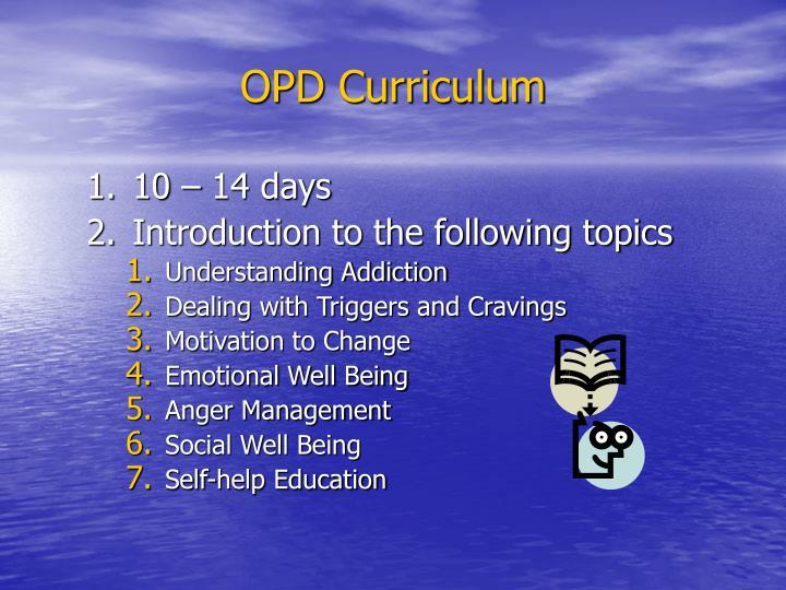 OPD Curriculum