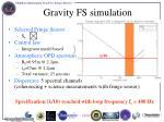 gravity fs simulation