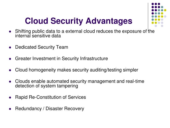 Cloud Security Advantages
