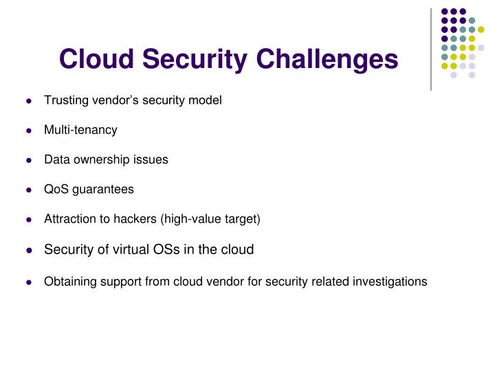 Cloud Security Challenges