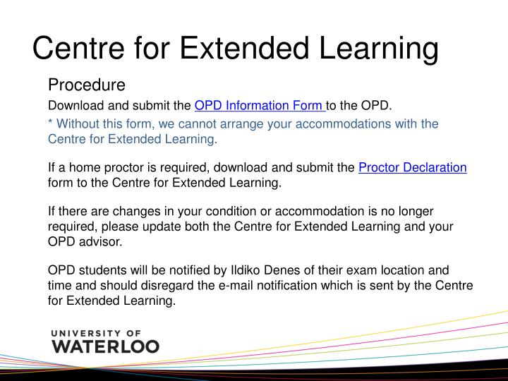 Centre for Extended Learning