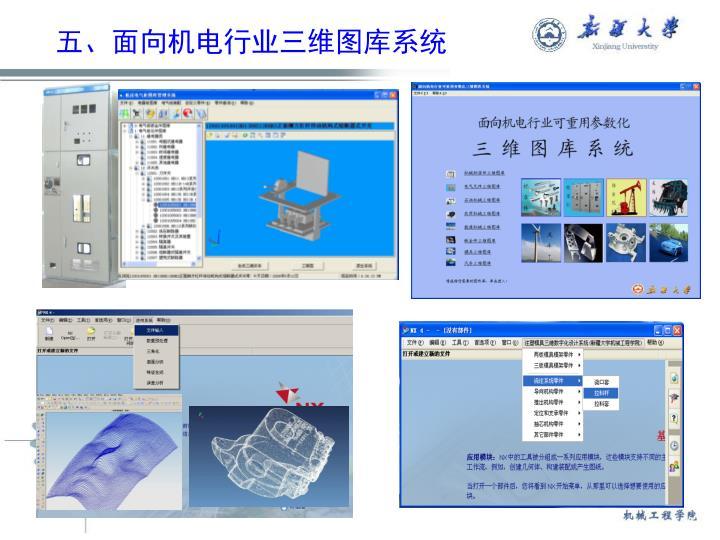 五、面向机电行业三维图库系统