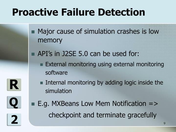 Proactive Failure Detection