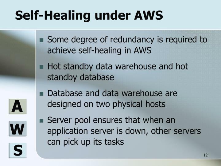 Self-Healing under AWS