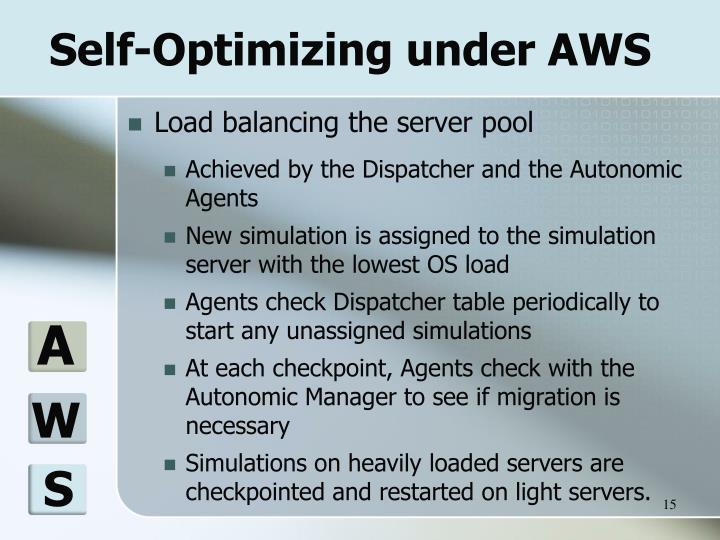 Self-Optimizing under AWS