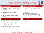 insight enterprise reporting solution