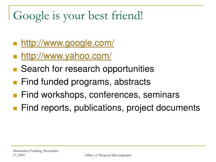 Google is your best friend!