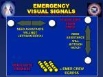 emergency visual signals