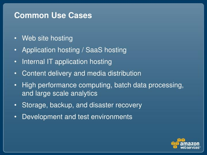 Common Use Cases
