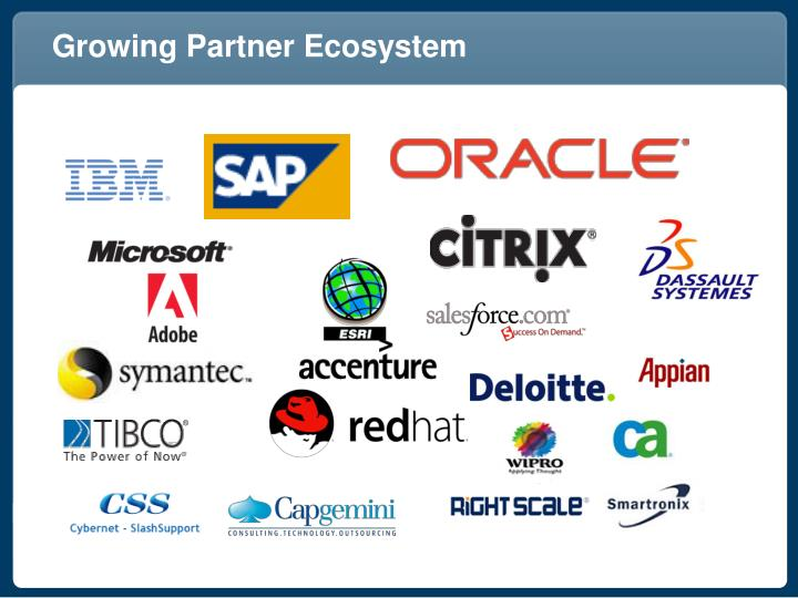 Growing Partner Ecosystem