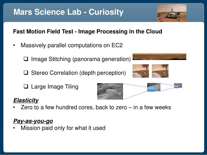 Mars Science Lab - Curiosity