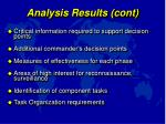 analysis results cont1