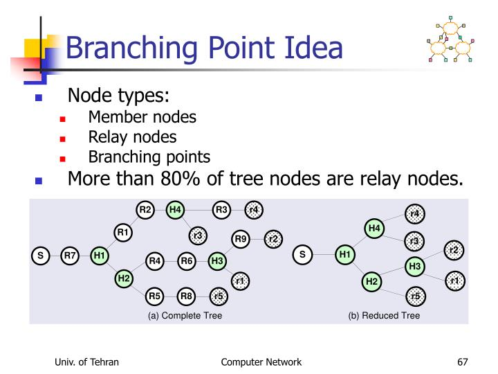 Branching Point Idea