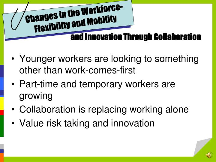 Changes in the Workforce-Flexibility and Mobility