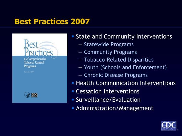 Best Practices 2007
