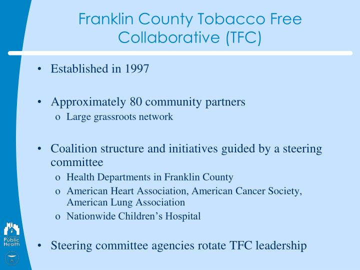 Franklin County Tobacco Free Collaborative (TFC)