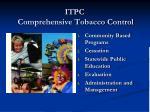 itpc comprehensive tobacco control