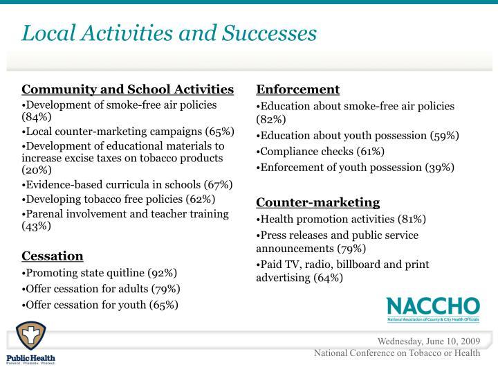 Community and School Activities