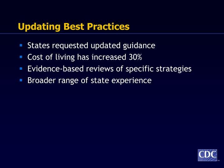 Updating Best Practices