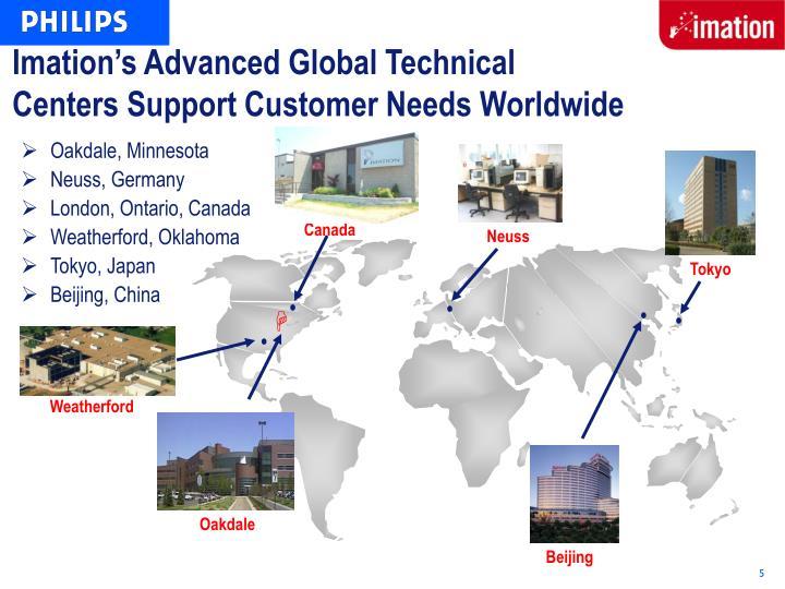 Imation's Advanced Global Technical