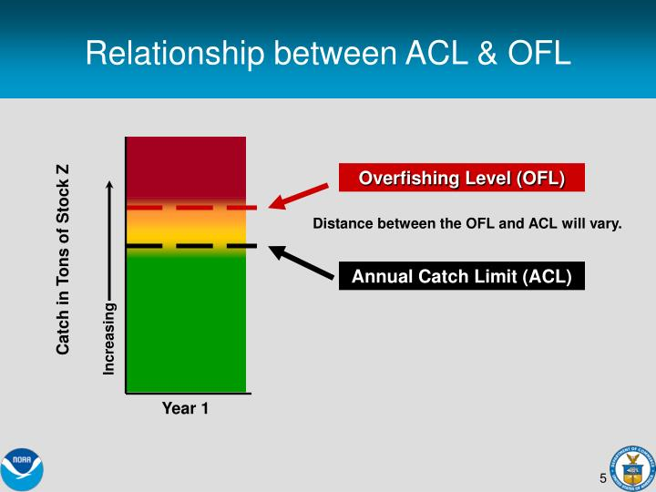 Relationship between ACL & OFL