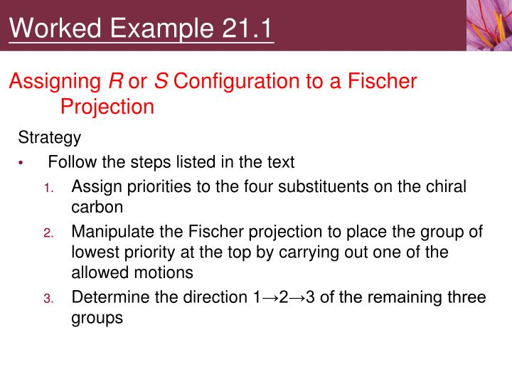 Worked Example 21.1