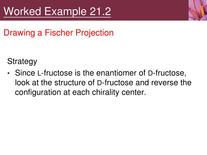 Worked Example 21.2