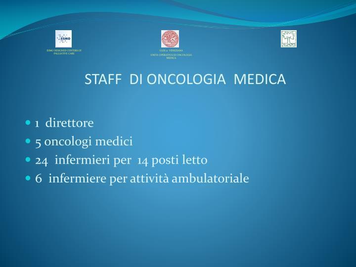 STAFF  DI ONCOLOGIA  MEDICA