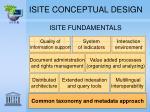 isite conceptual design2