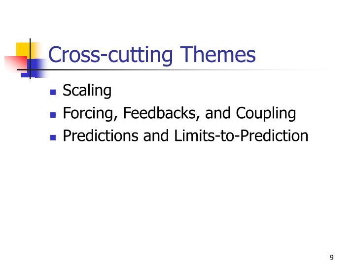 Cross-cutting Themes