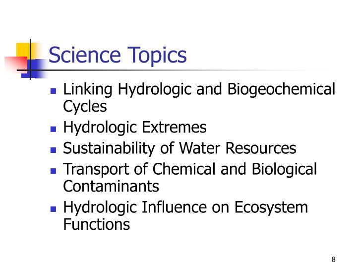Science Topics