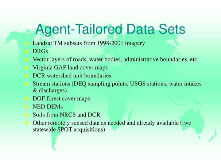 Agent-Tailored Data Sets