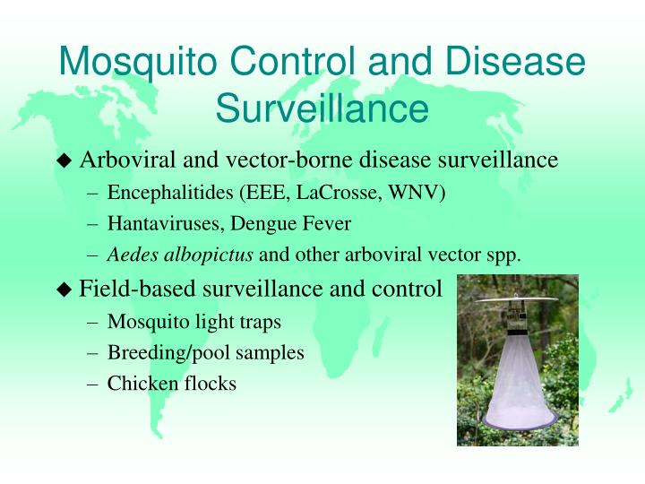 Mosquito Control and Disease Surveillance