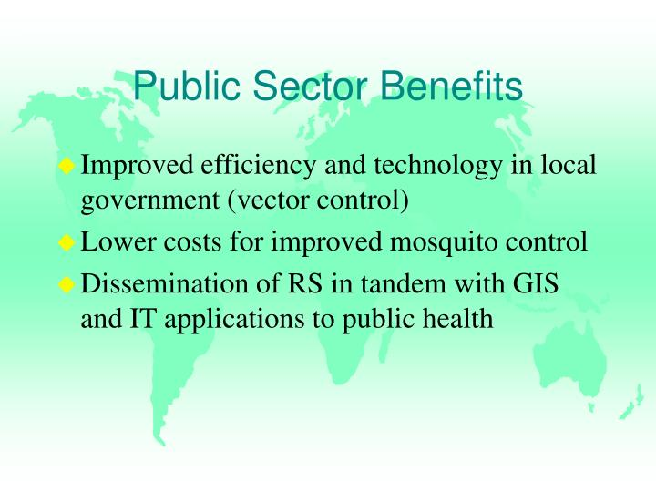 Public Sector Benefits