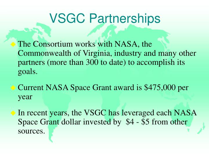 VSGC Partnerships