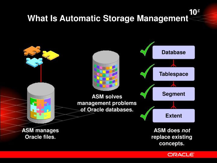 What Is Automatic Storage Management