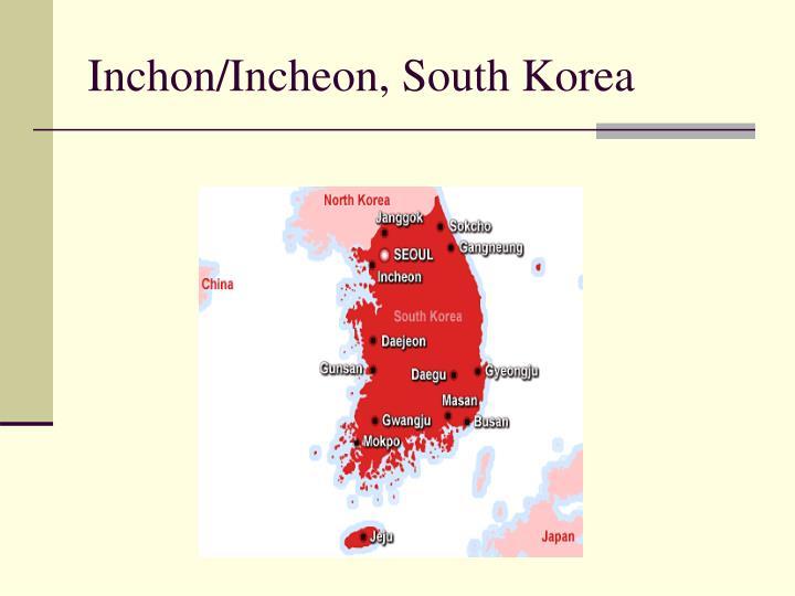 Inchon/Incheon, South Korea