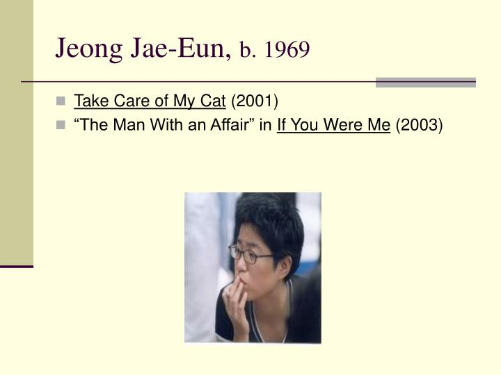 Jeong Jae-Eun,