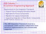 jsb column 1 a common engineering approach