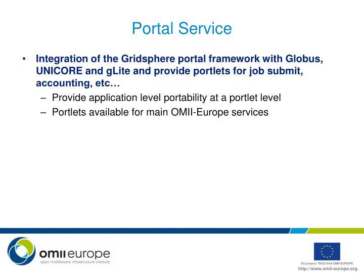 Portal Service