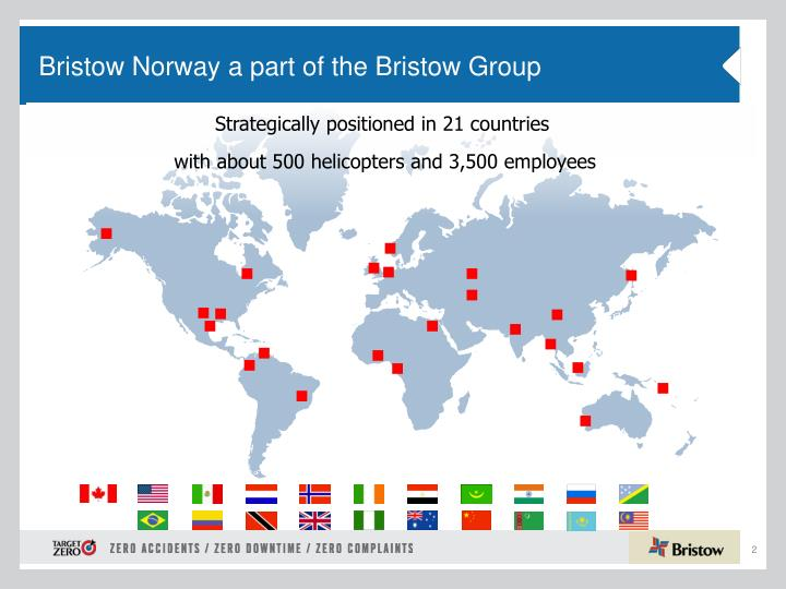 Bristow norway a part of the bristow group