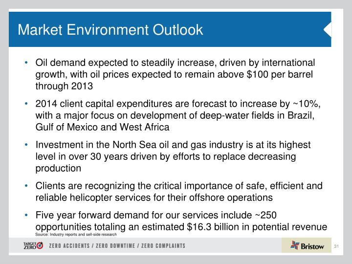 Oil demand expected to steadily increase, driven by international growth, with oil