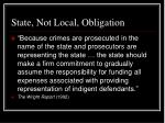 state not local obligation